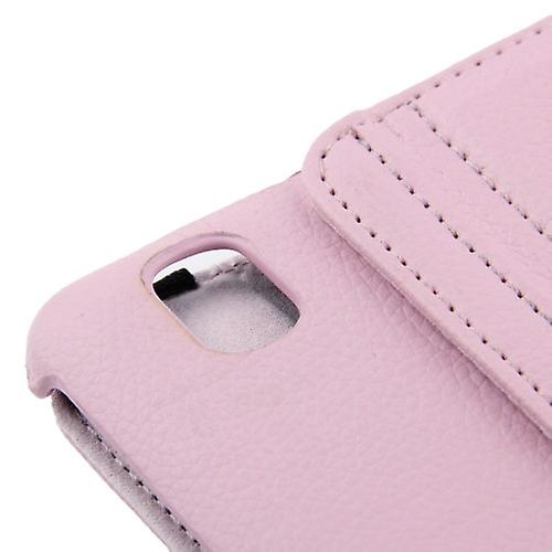 PU cover tray ash (flip cross) for Samsung Galaxy tab Pro 8.4 / T320 Rosa