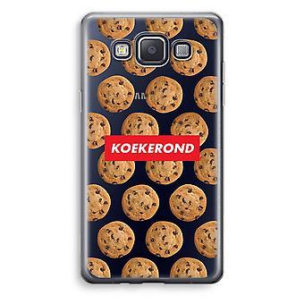Samsung Galaxy A3 (2015) gjennomsiktig sak (myk) - Koekerond