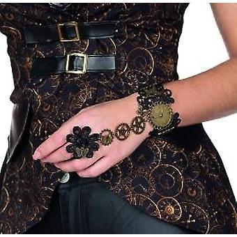 Elegante armband steampunk antiek ontwerp versnellingen bovenrand Accesssoire carnaval carnaval