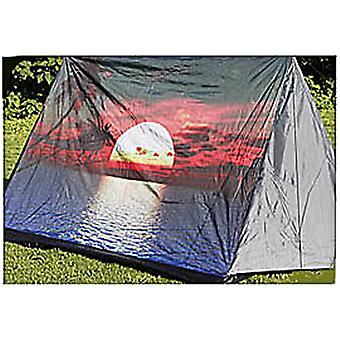 3-Personen-Zelt mit Print-Sonne