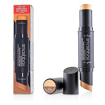 Smashbox Studio Skin Shaping Foundation + Soft Contour Stick - # 1.2 Light Golden Beige - 11.75g/0.4oz