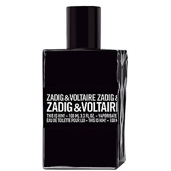 Zadig & Voltaire This is HIM EDT 100ML