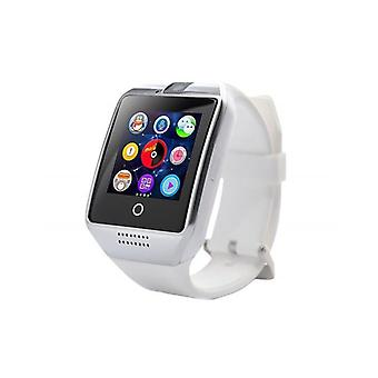 Q18 Smartwatch-Android & iOS-weiß