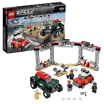 LEGO Speed Champions 75894 Mini1967 Montecarlo & 2018 Dakar