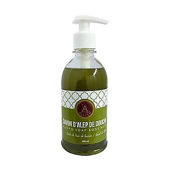 Aleppo Liquid Soap and Body Wash Soap with 20% Laurel Oil Natural Vegan 350 ml