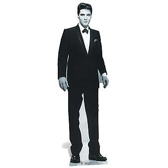 猫王穿着Tuxedo救生尺寸纸板切口 / 支架