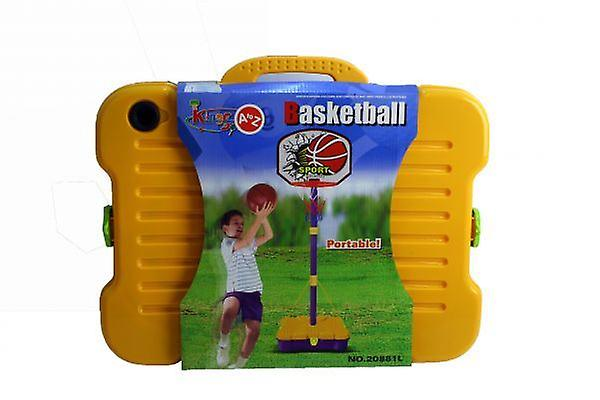 Kids Portable Standing Basketball Hoop with Net Indoor and Outdoor Playing