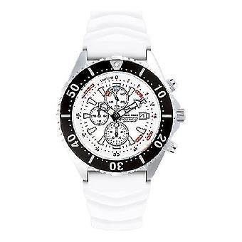 CHRIS BENZ - Diver watch - DEPTHMETER CHRONOGRAPH 300M - CB-C300-W-KBW
