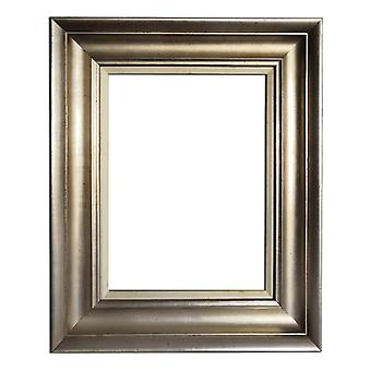 30x40 cm or 12x16 inch, LARGE photo frame in silver