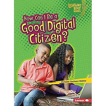 Comment être un bon citoyen numérique? (Lightning Bolt livres notre monde numérique)