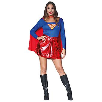 Womens superheld Fancy Dress kostuum