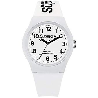 Superdry Quartz analoog horloge Unisex siliconen polshorloge SYG164WW