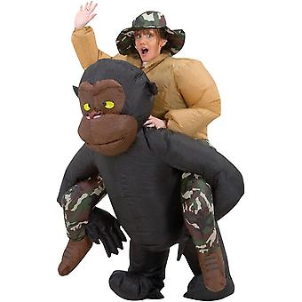 CIRC. gonflable Gorilla Costume adulte
