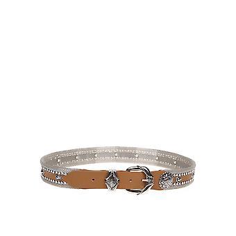 Nanni 703scuoio Women's Brown Leather Belt