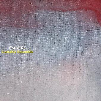 Unstable Ensemble - Embers [CD] USA import