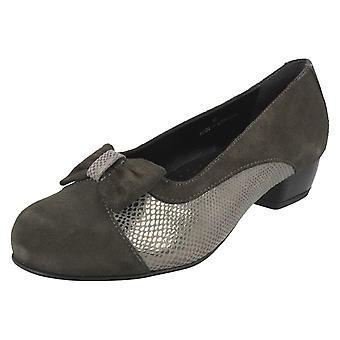 Damen Da Bella Slip auf hochhackige Schuhe Saltby