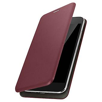 Smartphone Case 3,8 to 4,7 '' Universal Card Holder Function Wine