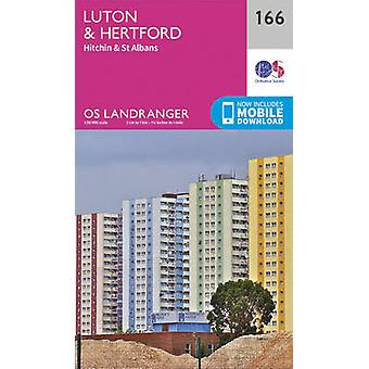 Luton - Hertford - Hitchin & St Albans (February 2016 ed) by Ordnance