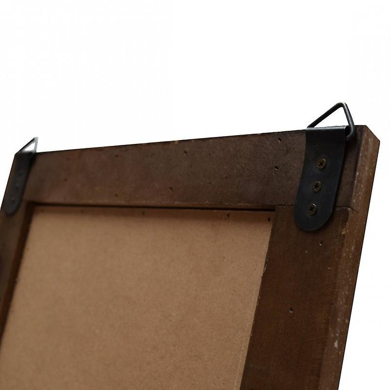 Rebecca mobile porte-clé Blackboard avec 4 boutons en bois pour accrocher la cuisine Vintage