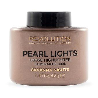 Make-up revolutie Pearl Lights losse Highlighter-SAVANA nachten