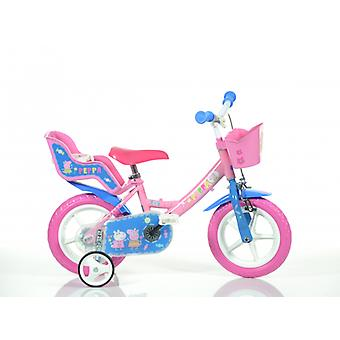 DINO Bikes Peppa Pig 12inch inch Bicycle
