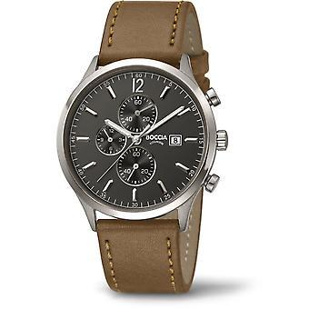Boccia Titanium 3753-04 Miesten Watch