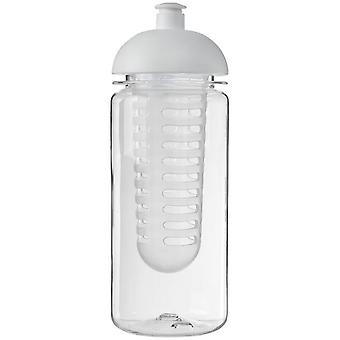 H2O Octave Tritan 600ml Dome Lid Bottle And Infuser
