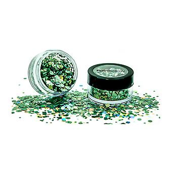 PaintGlow Holographic Hoy Glitter Shaker Green Envy