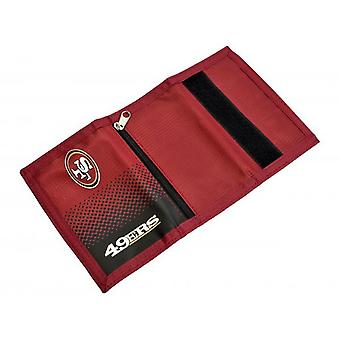 San Francisco 49ers Official NFL Fade Design Wallet