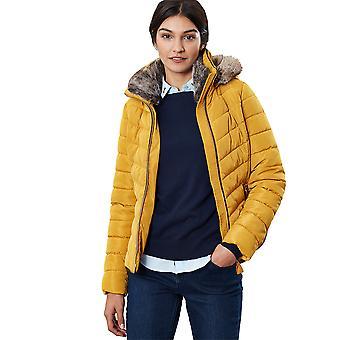 Joules damskie Gosway pochlebne Fit kapturem pikowane płaszcz
