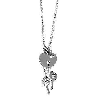 Akzent 002125000046 - Chain with women's pendant - stainless steel