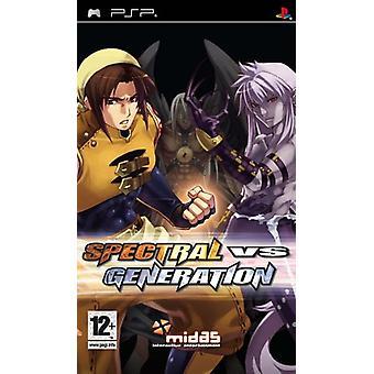 Spectral Vs. Generation (PSP) - New