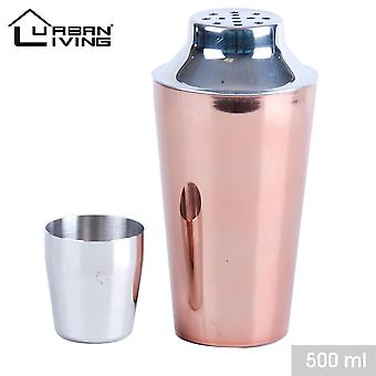500ml Copper Stainless steel cocktail Shaker