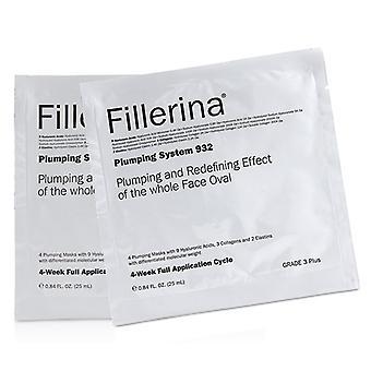 Fillerina Fillerina 932 Plumping System - Grade 3 Plus - 4x25ml/0.84oz
