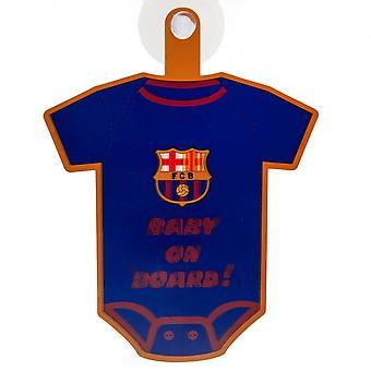 FC Barcelona vauva aluksella merkki