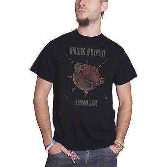 Rose vintage Floyd T Shirt animaux moutons Chase nouveau officiel Mens Black