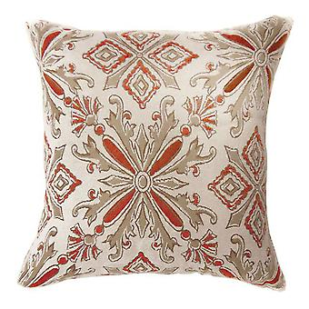 Contemporary Small Pillow With Fabric, Set of 2