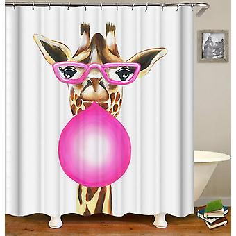 Tenda da doccia Bubble Gum Lady Giraffe