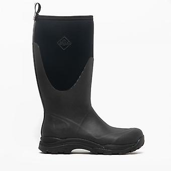 Muck Boots Outpost Mens Wellington Boots Black
