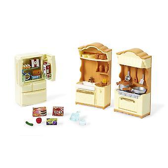 Sylvanian Families - Kitchen Play Set Toy