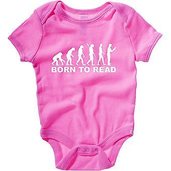 Body neonato rosa raspberry dec0082 evolution born to read