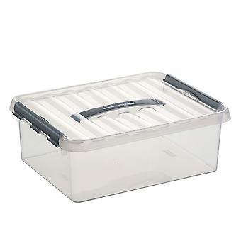 Sunware Q-line Opbergbox, 12 liter - A4 bodem