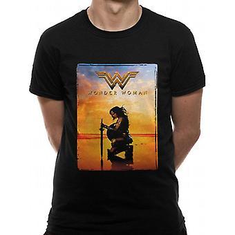 Mulher Maravilha Adultos Unisex Adultos Espada Design T-shirt