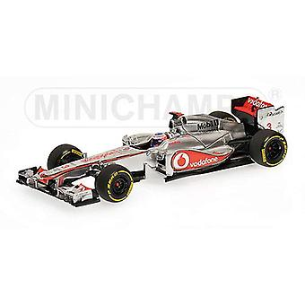 McLaren Mercedes MP4-27 (Jenson Button-Showcar 2012) Diecast malli auto