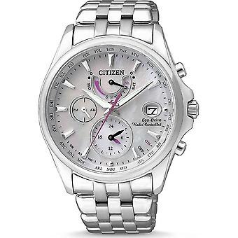 Citizen damski zegarek elegancki eco-drive radio oglądać FC0010 55