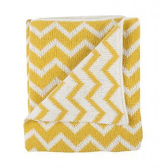 Plum Plum Blanket Bed Yellow Metrics 100X150