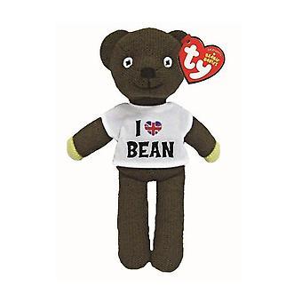 Ty Beanie Babies I love Mr Bean T Shirt Teddy Toy