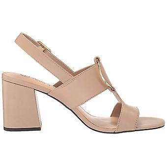 Bella Vita Women's Tanya Slingback Sandal with Metal Ornament Heeled