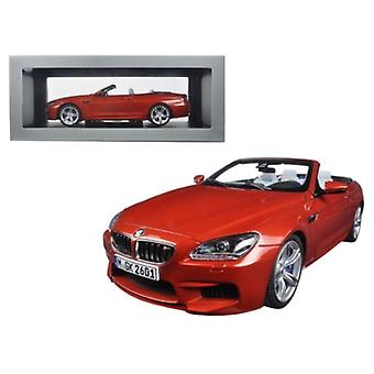 BMW M6 F12M Cabriolet Sakhir Orange 1/18 Diecast Model Car par Paragon