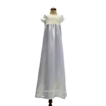 Dopklänning Med Kort ärm, Utan Rosett .grace Of Sweden